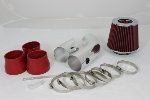 96 97 98 99 Chevy C/k 1500/2500/3500 All Model with 5.0l/5.7l V8 Short Ram Intake Red (Included Air Filter) #Sr-ch006r