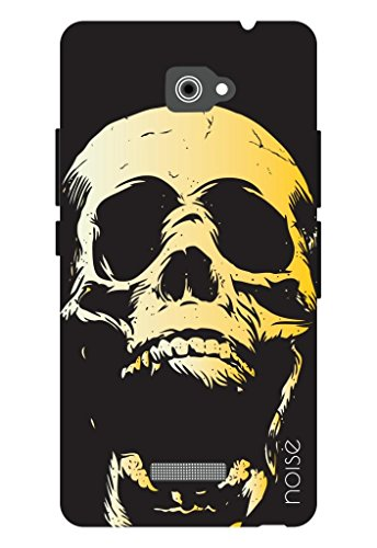 free shipping eeeae d4f01 Noise-Haunted Skull Panasonic Eluga S Back Cover Best Deals With ...