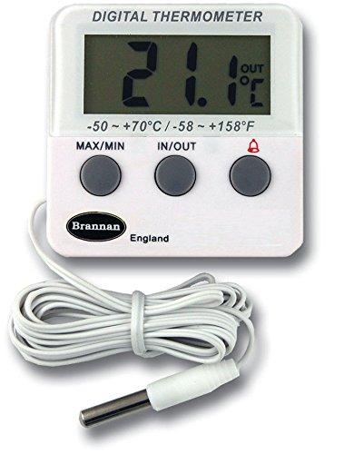 Réfrigérateur numérique ou d'un thermomètre de congélateur avec alarme
