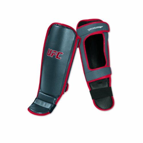UFC Shin/Instep Guard, Red/Gray, Small/Medium