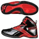 Reebok Still Talking Black/Red Basketball Shoes men's 7.5