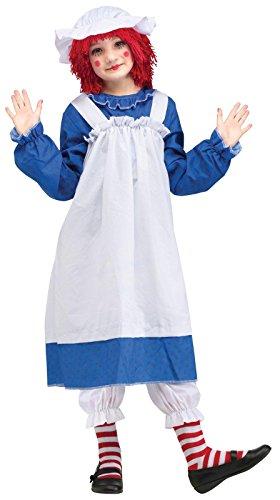 Girls' Raggedy Ann Costume