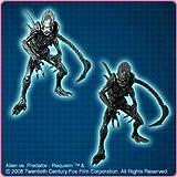 AVP Alien vs Predator Alien Warrior Real Figure full set of 2