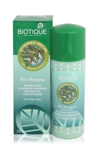 Biotique Bio Margosa Fresh Daily Dandruff Expertise Shampoo And Conditioner, 210ml