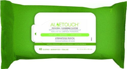 Medline AloeTouch 9 X 13 Inch Wipes in Neutral Scent - 48 pe