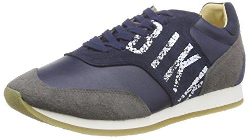Bikkembergs Endurance 457 L.Shoe M - Zapatillas para hombre, blue/grey, talla 43