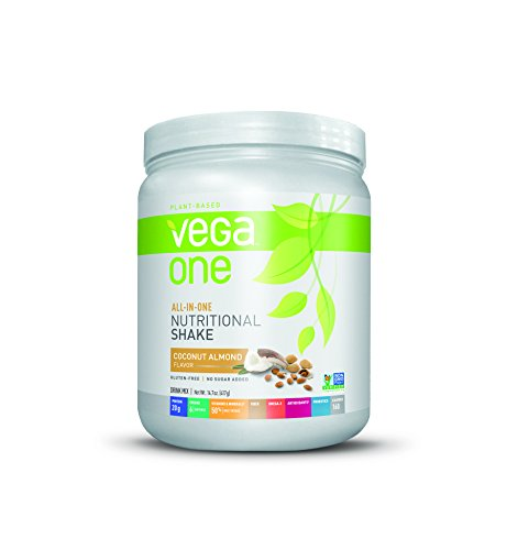 Vega One Plant Protein Powder, Coconut Almond, 14.7 Ounce