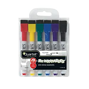 Amazon.com : Quartet Mini Dry Erase Markers - Assorted