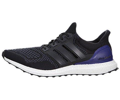 ultra boost black purple running