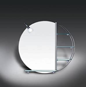 round bathroom mirror with shelf morale bathroom mirror with light and shelves 24070