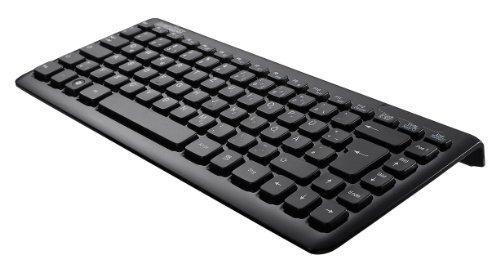 Perixx PERIBOARD-407B Mini Keyboard - Black - USB - 12.60 X5.55 X0.98 Dimension - Piano Finish - Chiclet Key Design...
