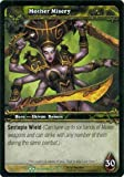World of Warcraft Hunt for Illidan Single Card Mother Misery #22 Uncommon [Toy]