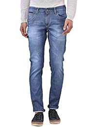 Blue Buddha Men's Washed Skinny Fit Jeans