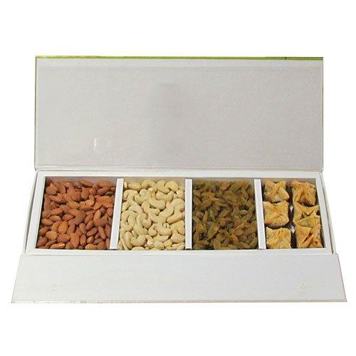 Chocholik - Heavenly Treat Of Almonds, Cashew, Raisin And Baklava Box - Chocholik Belgium Chocolates