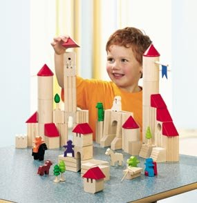 Haba Ghost Tower and Castle Block Set