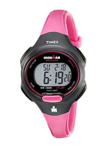 Timex Women's Ironman T5K525 Pink Resin Quartz Watch with Si