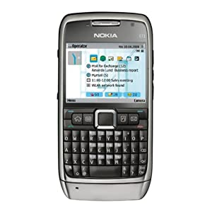Nokia E71 Unlocked Phone with 3.2 MP Camera, 3G, Media Player, GPS and Free Voice Navigation, Wi-Fi, and MicroSD Slot–U.S. Version with Warranty (Gray)