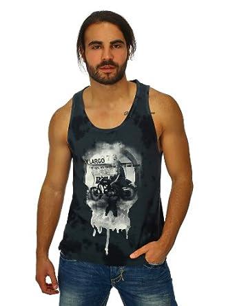 Tank Top Key Largo Herren Muscle Shirt Totenkopf Skull