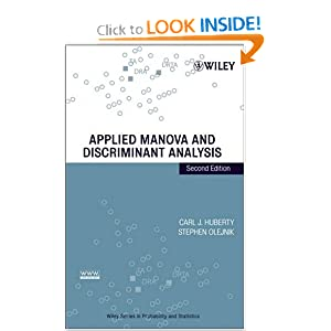 Applied Manova And Discriminant Analysis Ebook Dow By Jenevanupe On Deviantart