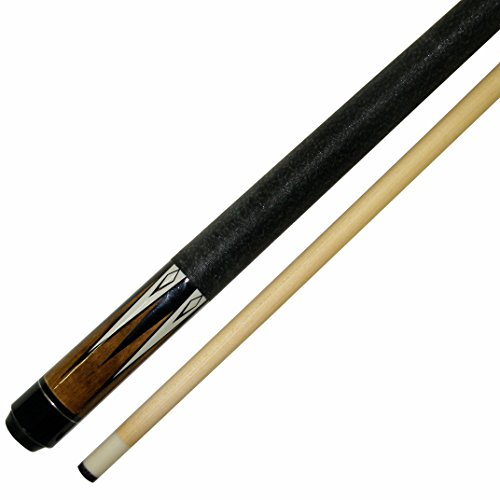 "Short 48"" 2 Piece Hardwood Maple Pool Cue Billiard Stick Choose From 18 Or 19 Ounce"