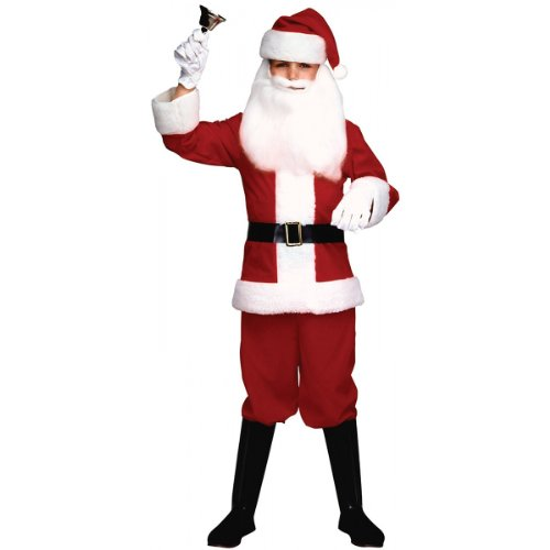 Child's Santa Claus Suit Costume