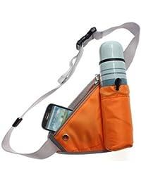 Getko Sports Waist Bag Bottle Holding Pouch Travel Bag(Multicolor)