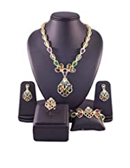 Multicolor Traditional Jewellery Set