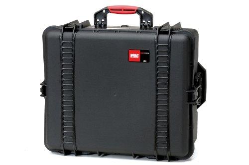 HPRC 2700CW Étui rigide à roulettes avec intérieur mousse pour appareil photo Noir