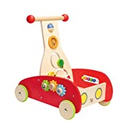Hape-Wooden Rainbow Push And Pull