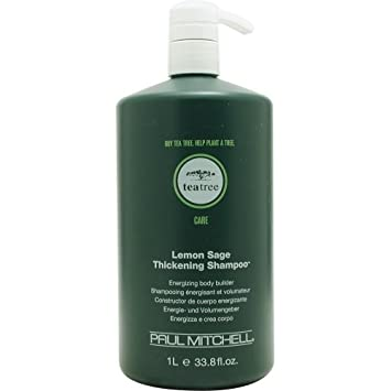 Paul Mitchell Tea Tree Lemon Sage Thickening Shampoo, 33.8 Ounce