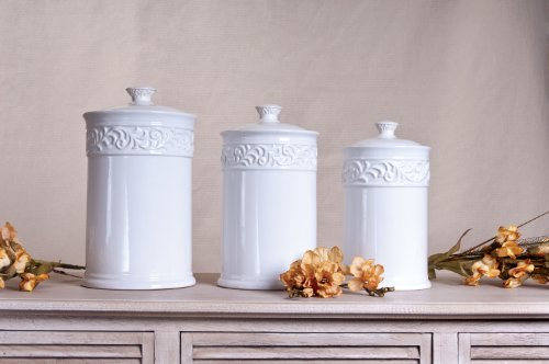 white kitchen canisters sets white kitchen canister sets 674