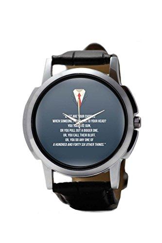 PosterGuy Suits Harvey Spector Men's Wrist Watches