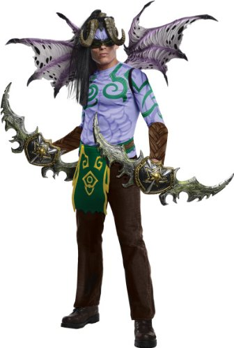 World Of Warcraft Adult Illidan Set, Purple, Standard