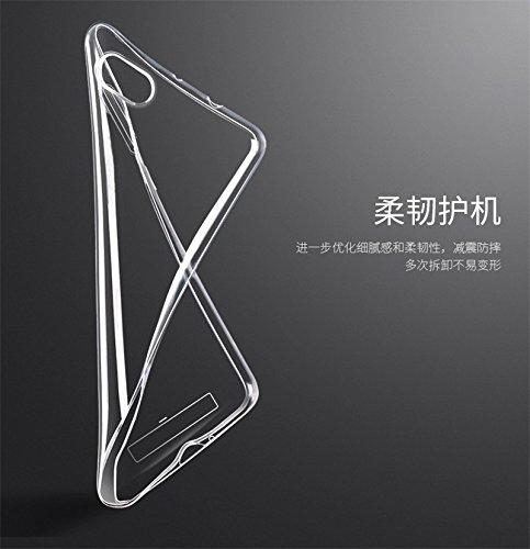Nkarta TM Imported Premium Ultra Thin TOTU Soft Transparent Clear Back Case Cover For Asus Zenfone C
