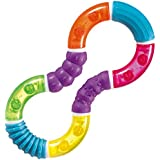 Munchkin Twisty Figure 8 Teether Toy (Multi Color In A Pack)