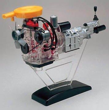 Minicraft 1/5 Mazda Rotary Engine Model Kit