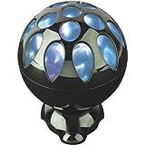 Lava Lite iLava Sphere Speaker, Black Nickel