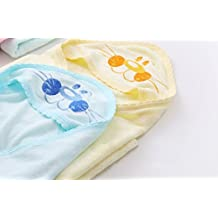 CocoBabycare Organic Hooded Towel, Extra Soft, Large Towel For Infant And Toddler Sets For Baby Registry And Gift...