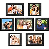 Sifty Collection Collage Photo Frames (5x7) 3, (5x5) 4 Set Of 7 Pcs