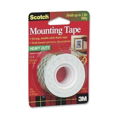 Scotch Mounting Tape 1 In. W X 50 In. L