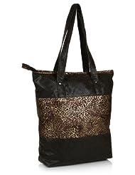 Home Heart Women's Eco Friendly Tote Bag (Gold/Black)