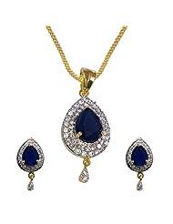 Sheetal Jewellery Brass & Alloy Pendant Set For Women