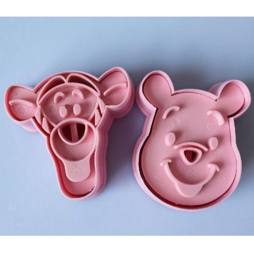 2pcs Pooh & tigger coo...
