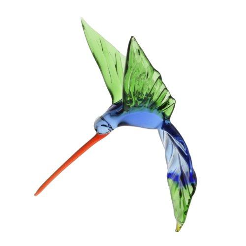 Labrie Glass Hummingbird Ornament