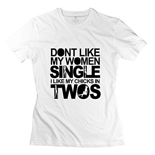 潤洋 安い 女子シングル 綿 100% 女性 カスタマイズするシャツ -