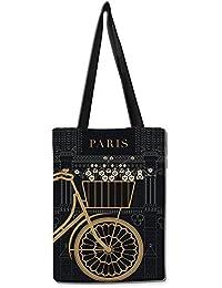 Paris Bookey Tote Bag