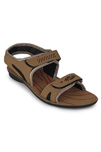11e Tan Floater Sandal For Men