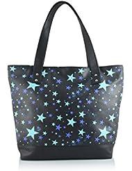 Shaun Design Multi Star Tote Bag (Black) (BT6001P)