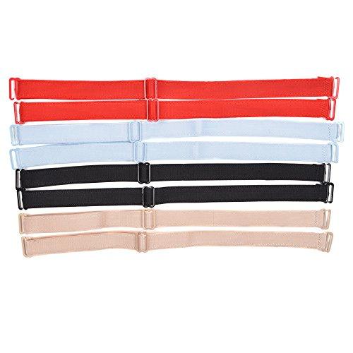 KLOUD City Assorted Colors Replacement Adjustable Bra Shoulder Strap/Lingerie Clip Strap/Women Bra Strap (15mm...