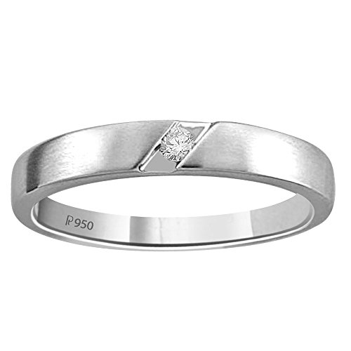 Diti Day Of Love Platinum Love Band For Him